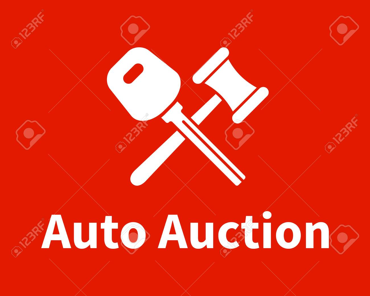 Car Auction Logo Design Royalty Free Cliparts Vectors And Stock Illustration Image 129686422