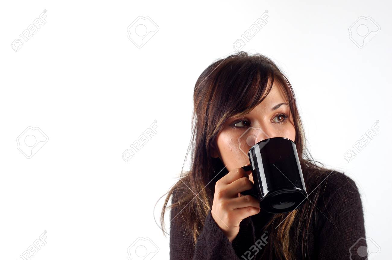 drinking coffe Stock Photo - 1517809