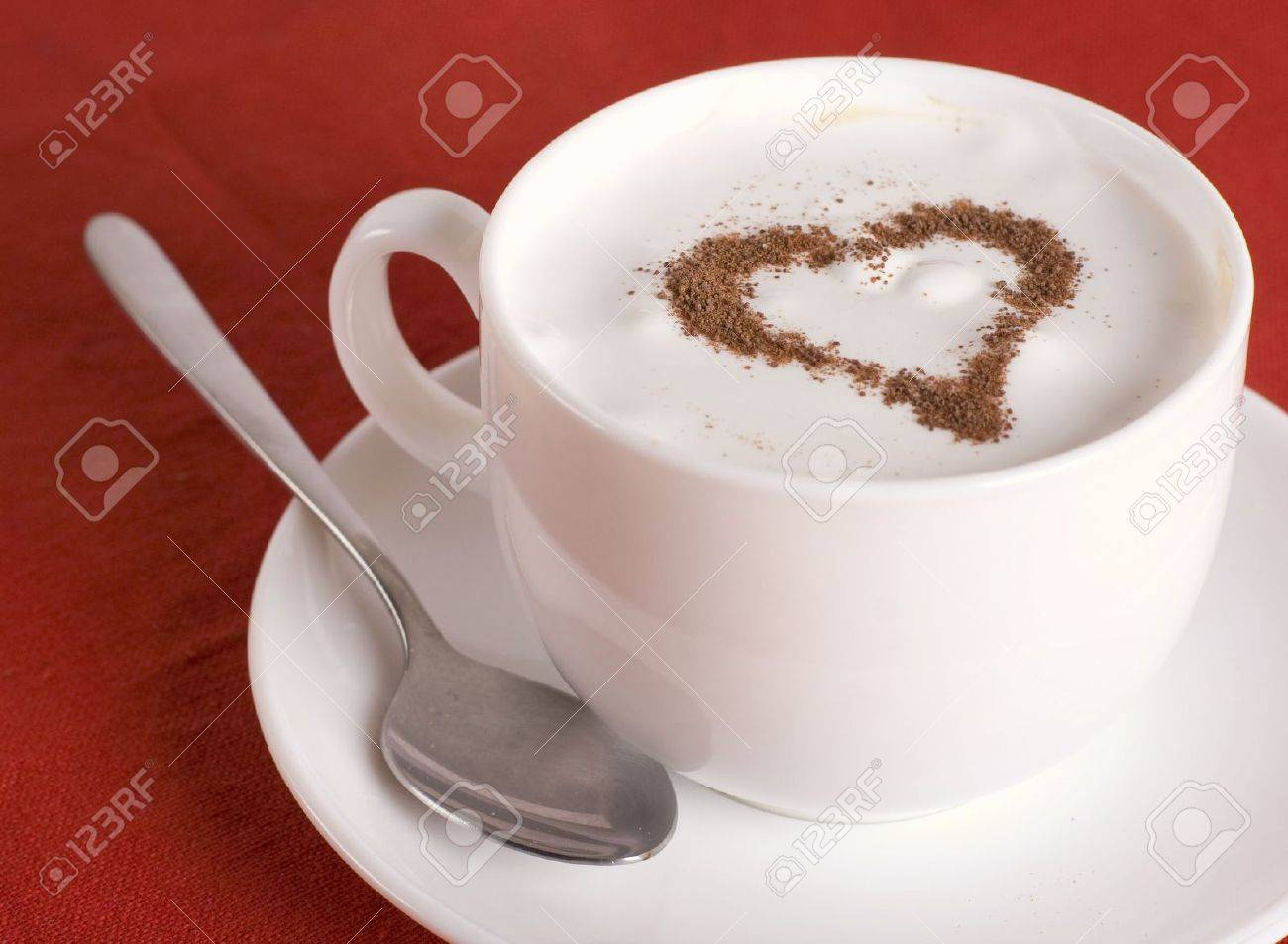 Cup of cappuccino Stock Photo - 4544693