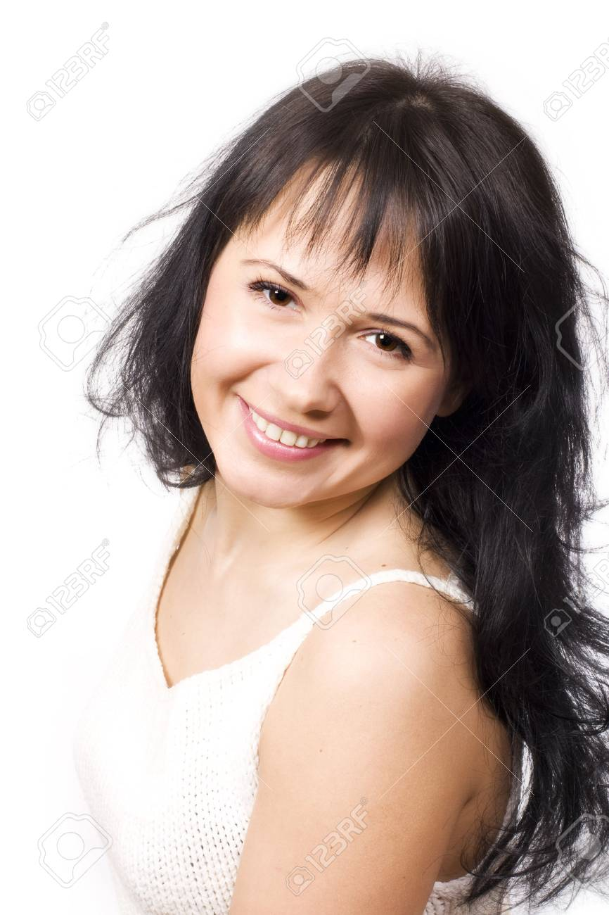 Portrait of a smiling young woman Stock Photo - 4743179