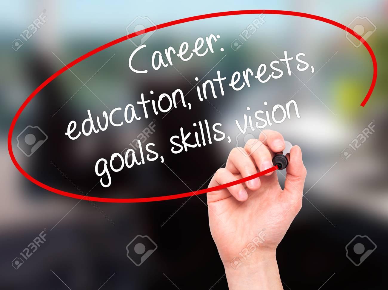 Escritura De La Mano Del Hombre Carrera: Educación, Intereses ...