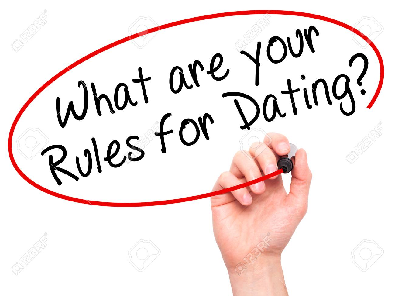 rules for dating a new man