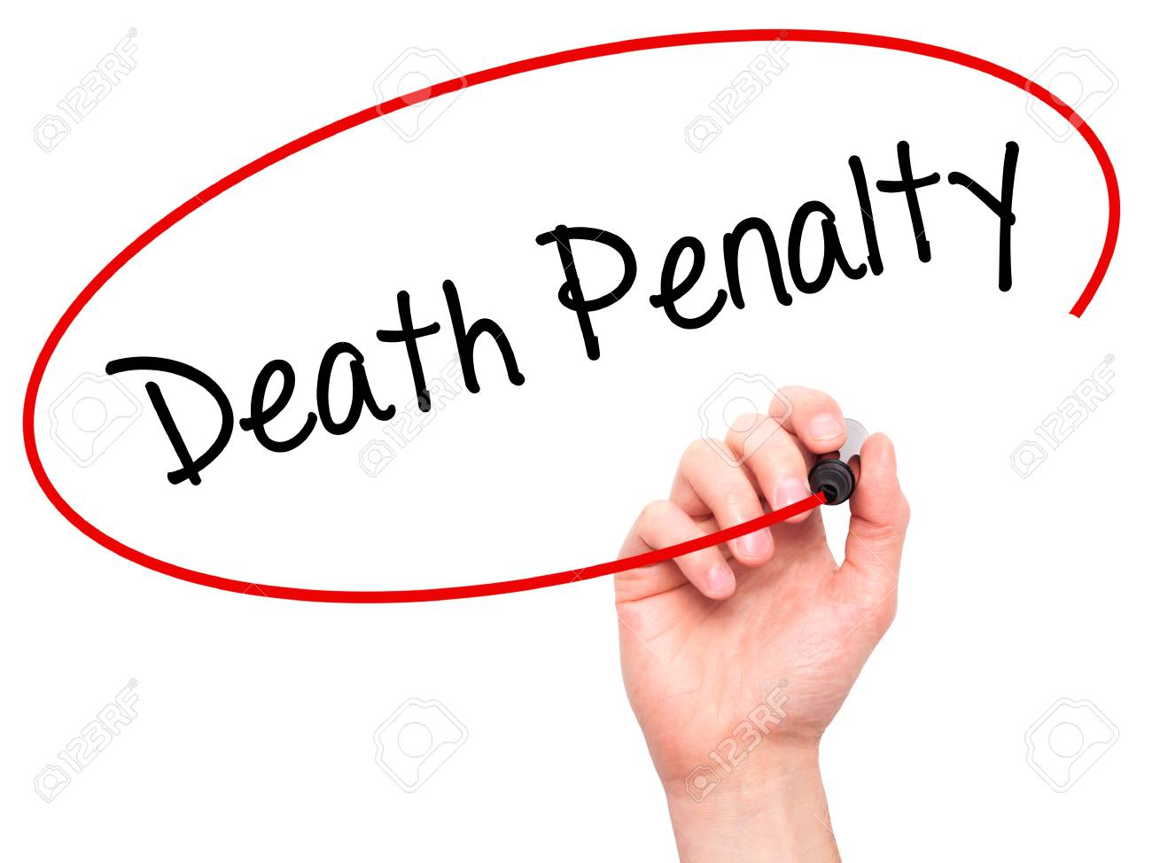 Death penalty writing
