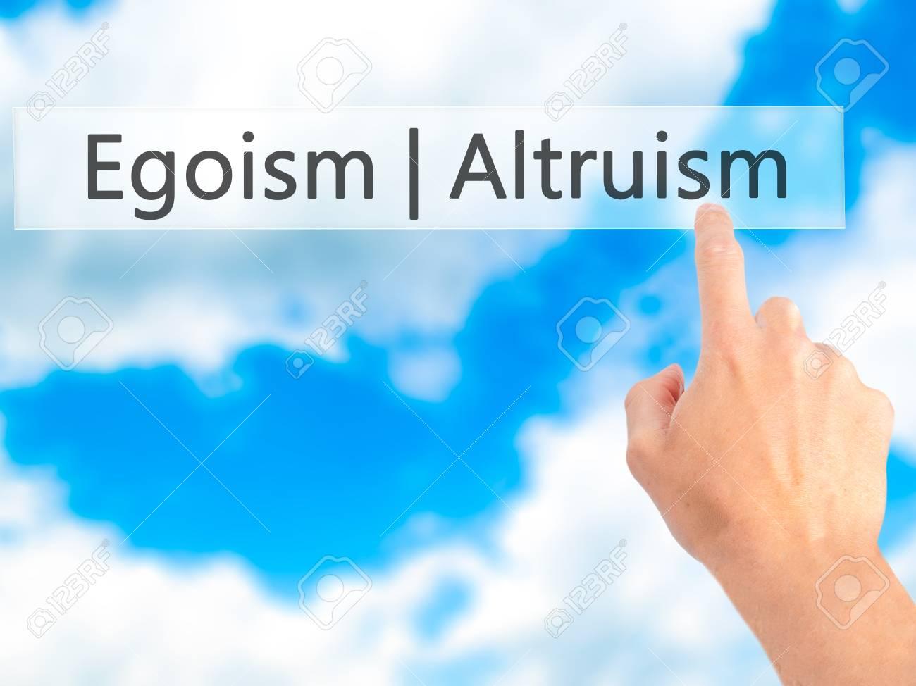 egoism in business