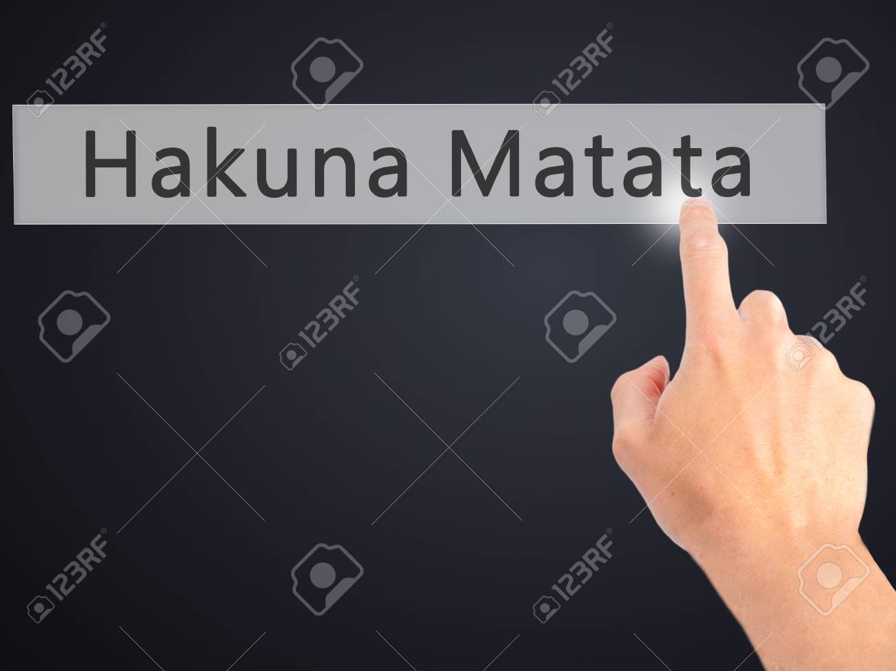 Hakuna Matata Frase Swahili Que Significa Sin Preocupaciones