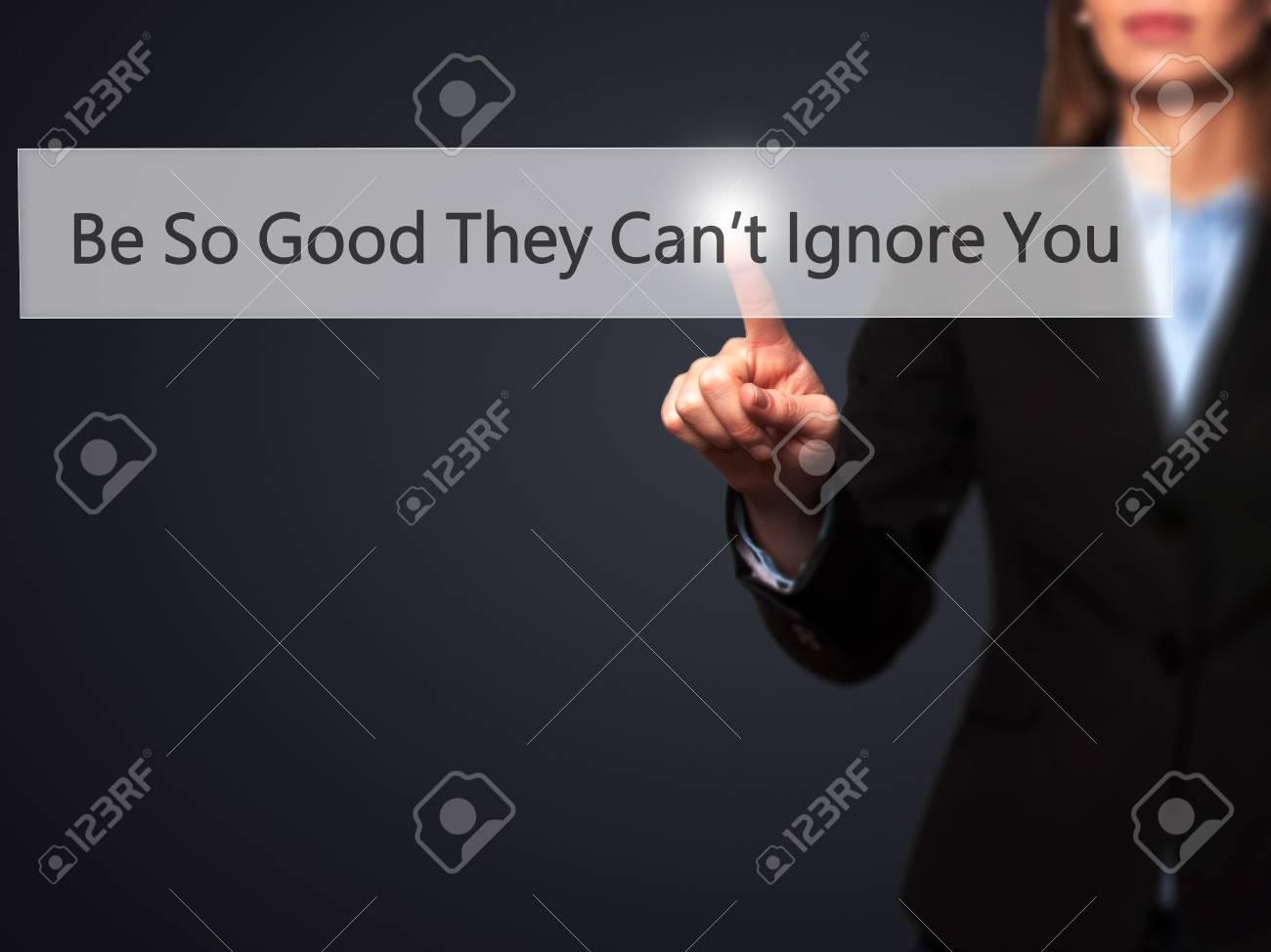 ignoriert werden