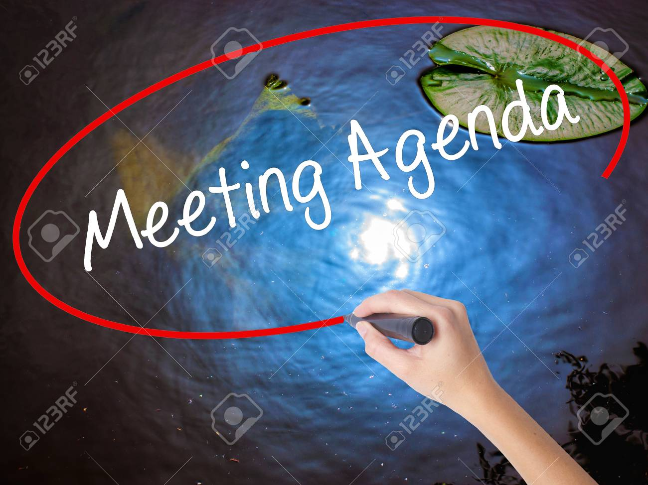 writing a meeting agenda