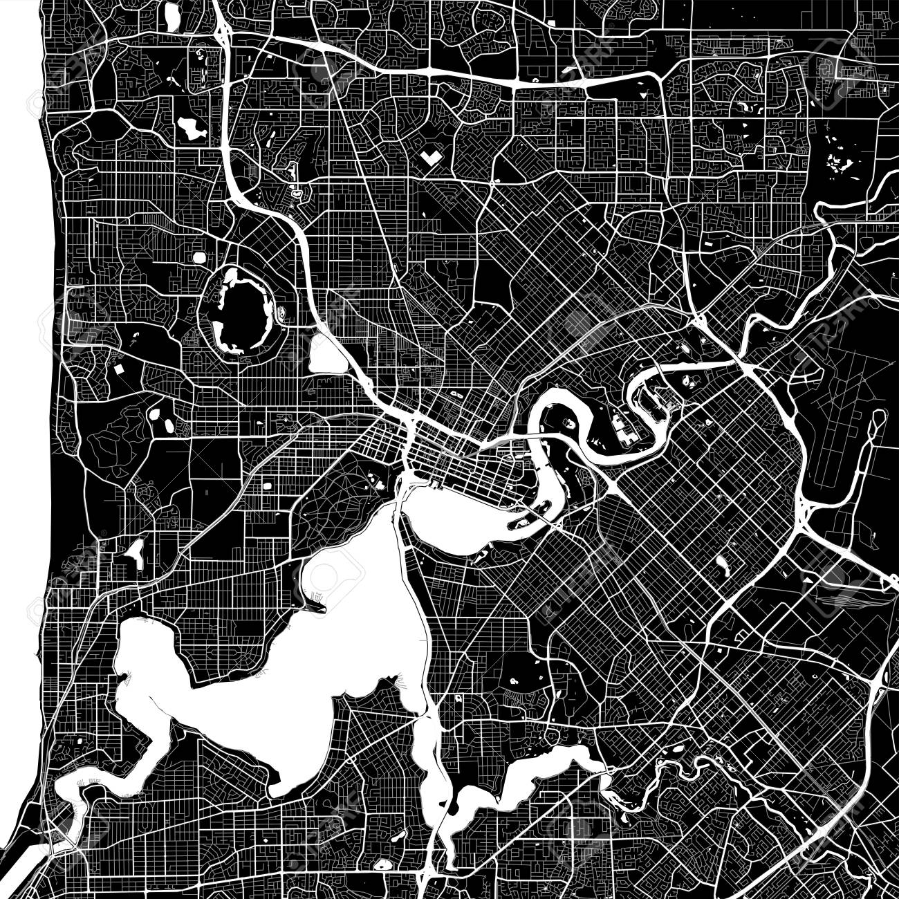 Area Map Of Perth, Australia. Dark Background Version For ... Map Of Perth Australia Area on perthshire scotland map, australia and surrounding area map, western region map, perth washington map, melbourne map, sydney map, seoul south korea area map, paris france area map, rail map, australia industry map, perth scotland map, perth uk map, guadalajara mexico area map, new zealand australia map, medford oregon area map, tasmania map, brisbane australia area map, anchorage alaska area map, janus rock australia map, glasgow scotland area map,
