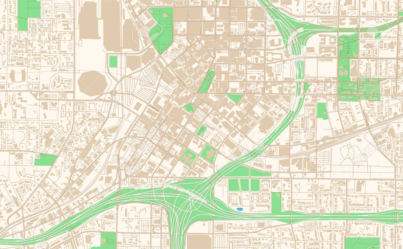 graphic relating to Printable Map of Georgia named Atlanta Ga printable map excerpt. This vector streetmap..
