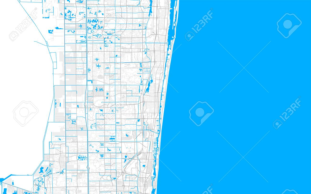 Rich detailed vector area map of Delray Beach, Florida, USA... on thonotosassa map, lake worth inlet map, north jacksonville map, frostproof map, naples map, palm beach outlets map, florida map, boynton inlet map, miami map, watson island map, marco island map, gladeview map, hollywood map, orlando map, tampa map, hypoluxo island map, palm beach county map, fort lauderdale map, palm beach mall map, bonifay map,