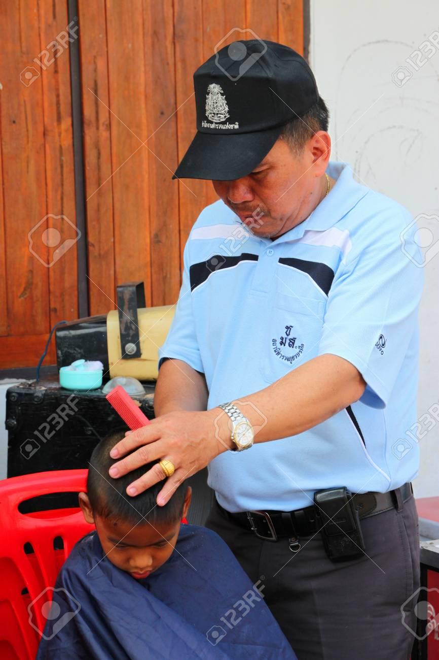 Corte de pelo policia