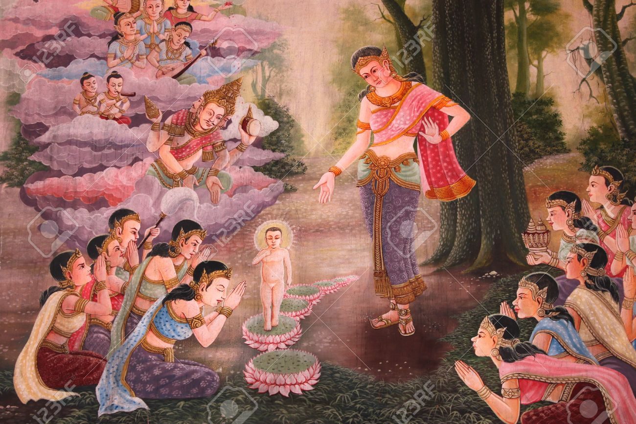Buddha Birth And Stories Of The Former Incarnations Of The Lord ...