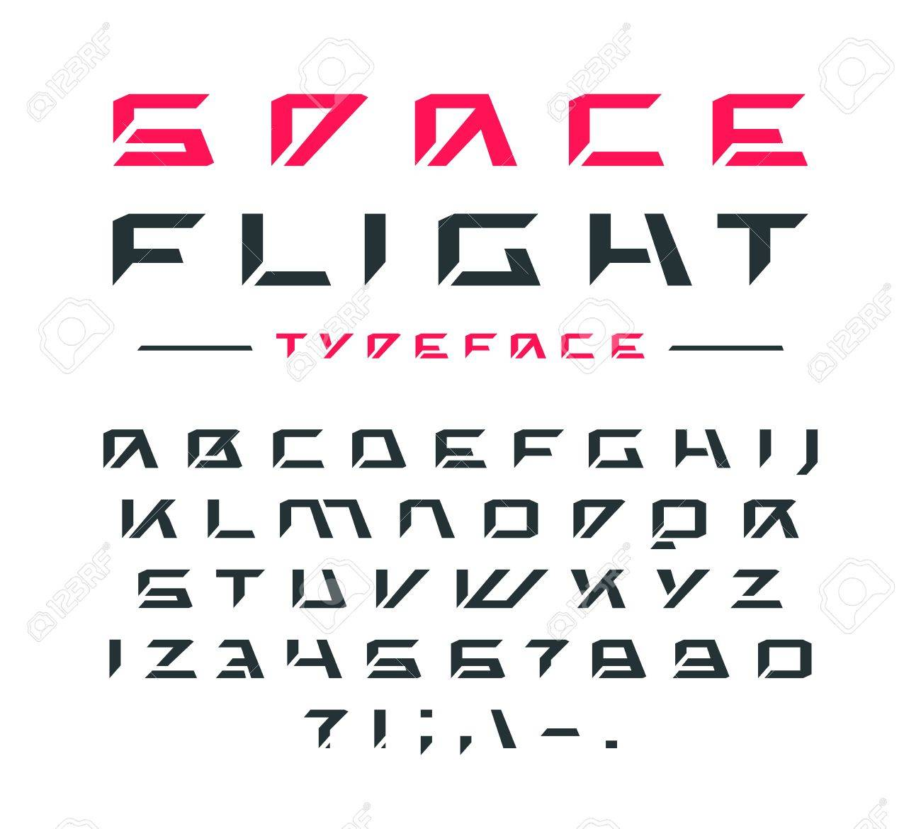 Futuristic Font Letters And Numbers For Sci Fi Military Cosmic Royalty Free Cliparts Vectors And Stock Illustration Image 85569052