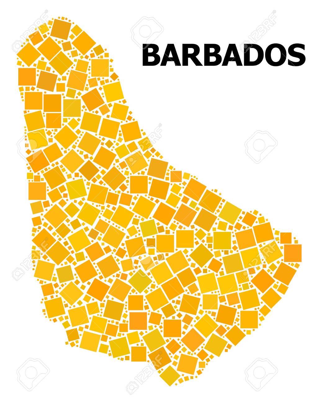 Gold square pattern vector map of Barbados. Abstract composition.. on flag of barbados, zimbabwe map, caribbean sea, grantley adams international airport, saint thomas, cayman islands map, barbados dollar, british virgin islands, bonaire island map, west indies map, americas map, greater antilles map, the bahamas, turks and caicos islands, bahamas map, caribbean map, barbadian people, carribean map, jamaica map, virgin islands map, cuba map, trinidad and tobago, tanzania map, puerto rico map, windward islands, haiti map, antigua and barbuda, belize map, aruba map, united states map, saint vincent, maldives island map, world map, saint vincent and the grenadines,