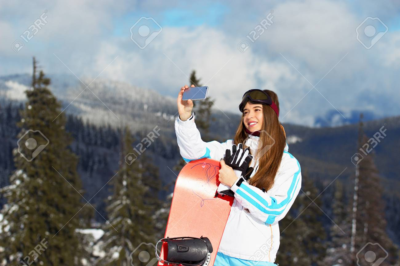 Stock Photo - Young beautiful girl in white jacket c46b09660