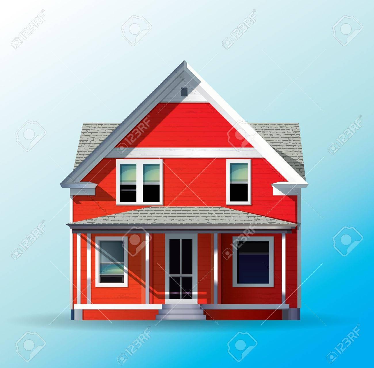 Family House Stock Vector - 12158884