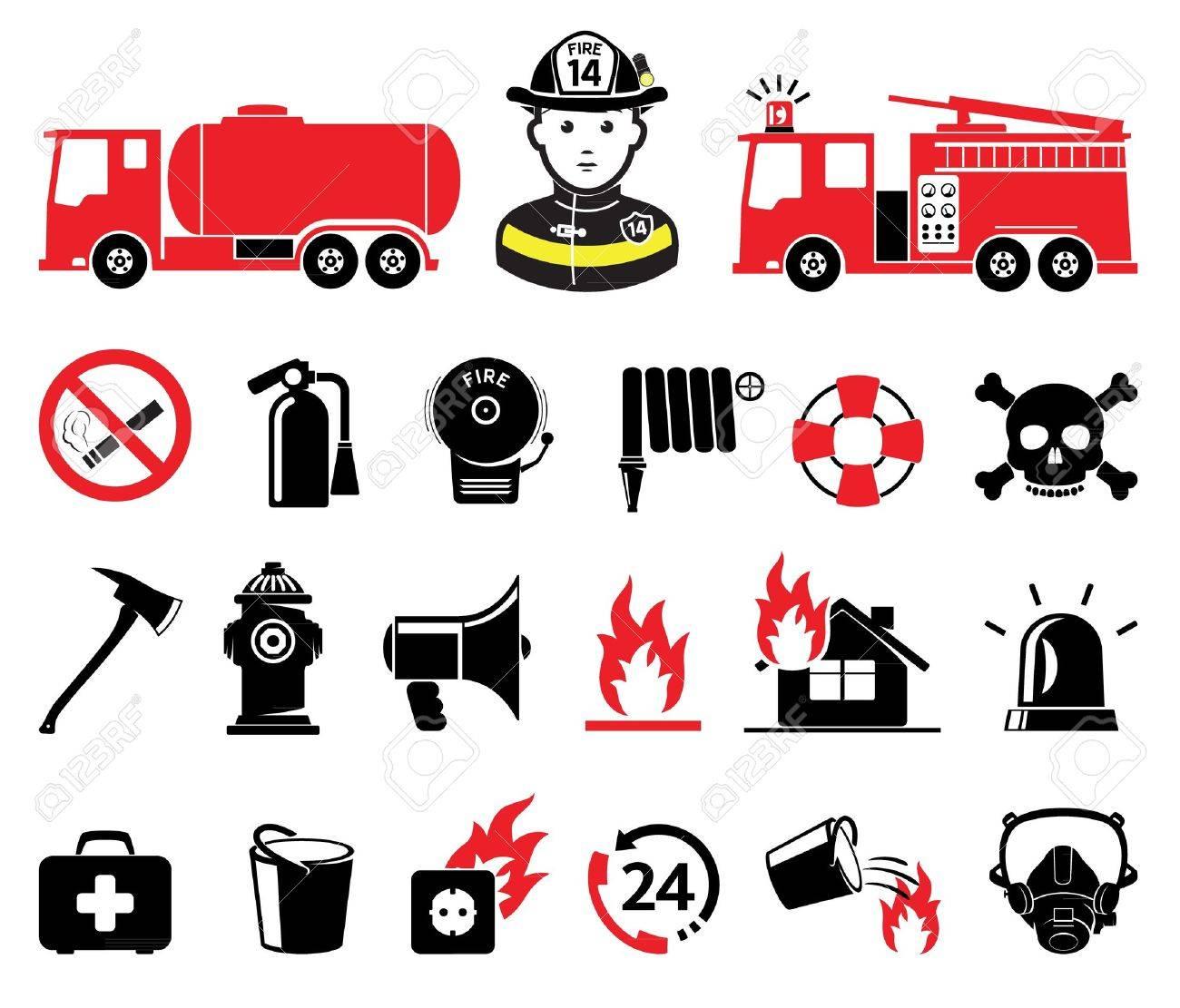 Caserne pompiers, et, véhicule Clipart   k29806820   Fotosearch