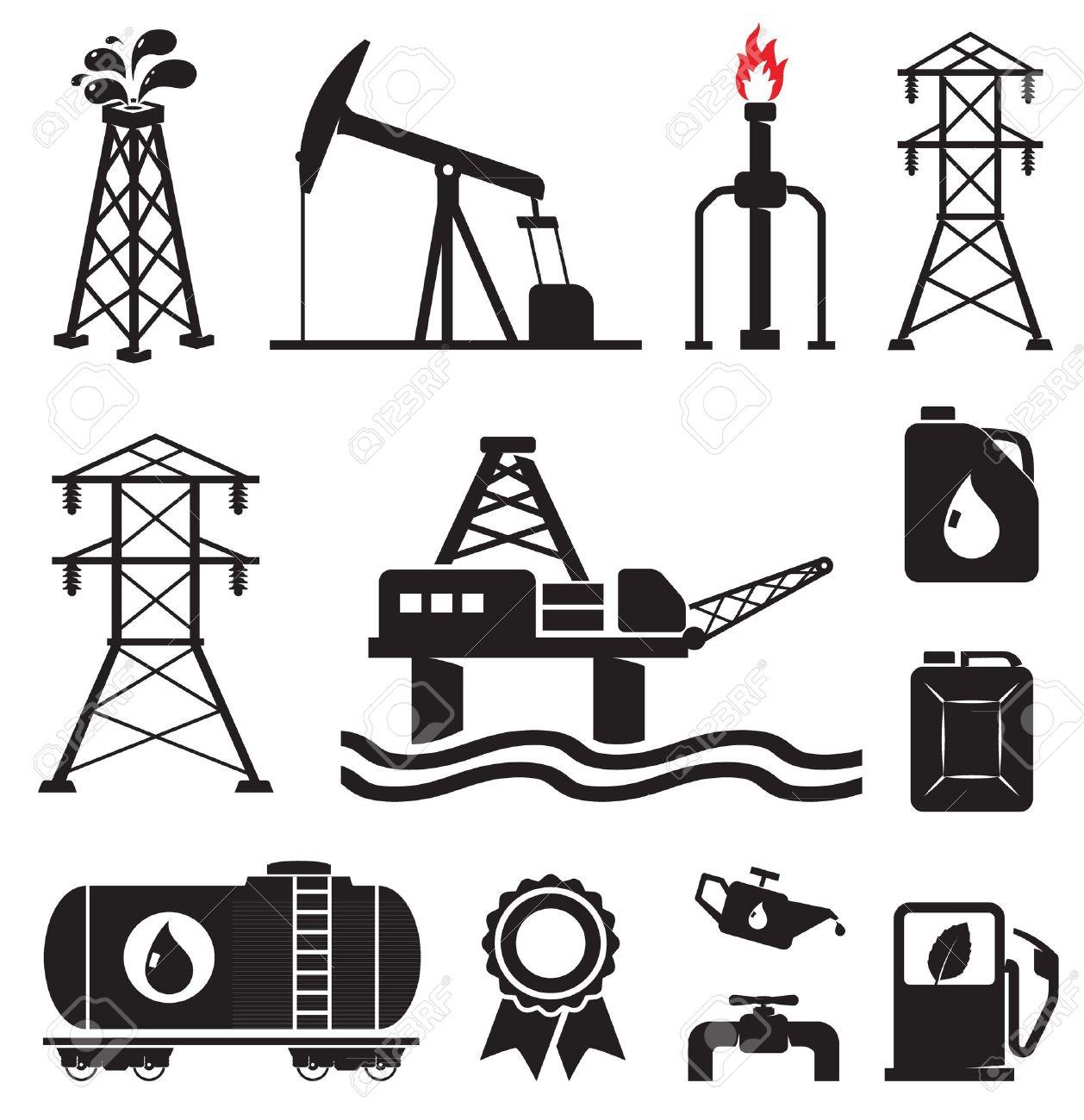 Oil gas electricity symbols royalty free cliparts vectors and oil gas electricity symbols stock vector 13295511 biocorpaavc