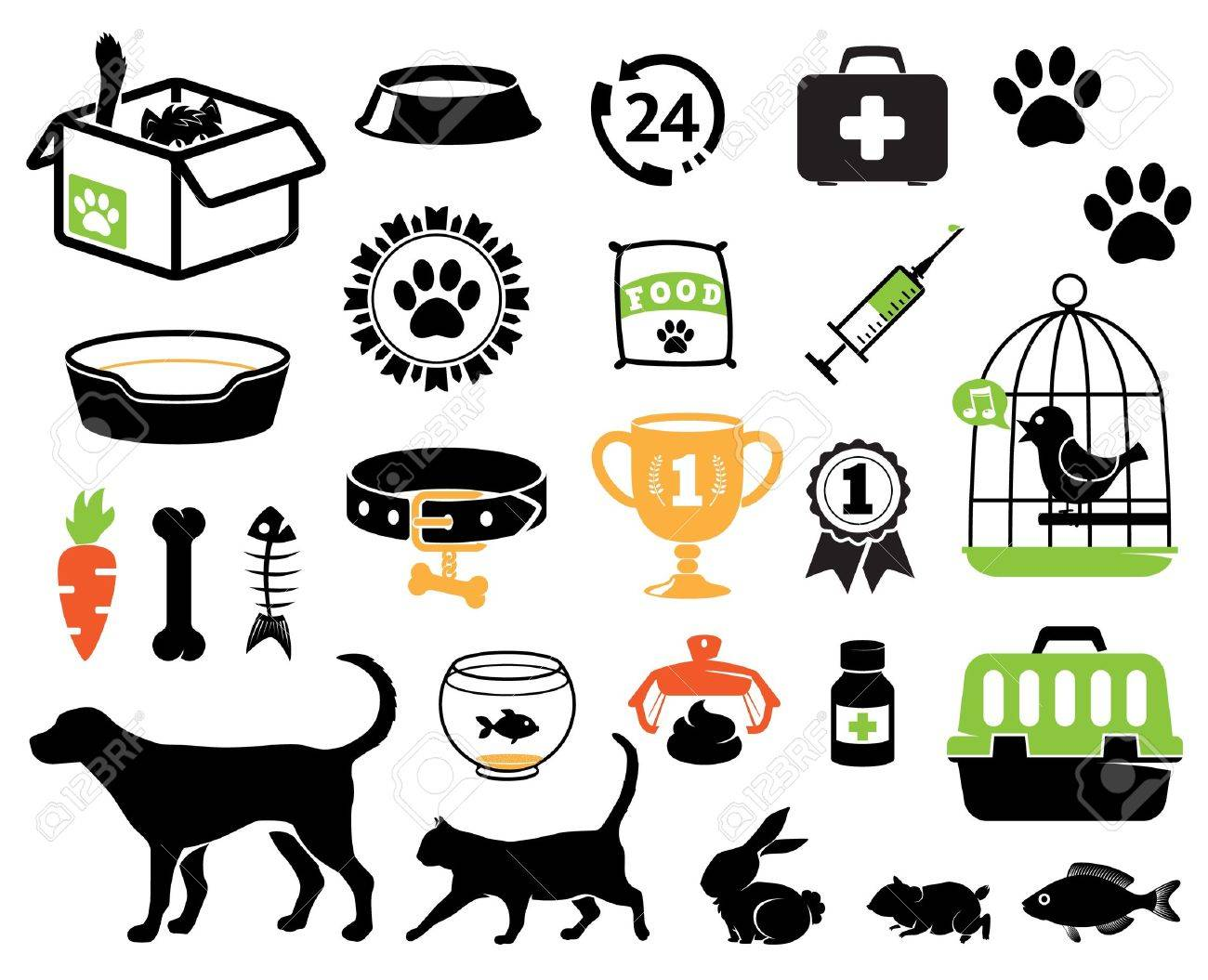 Pet icons collection - 14772150