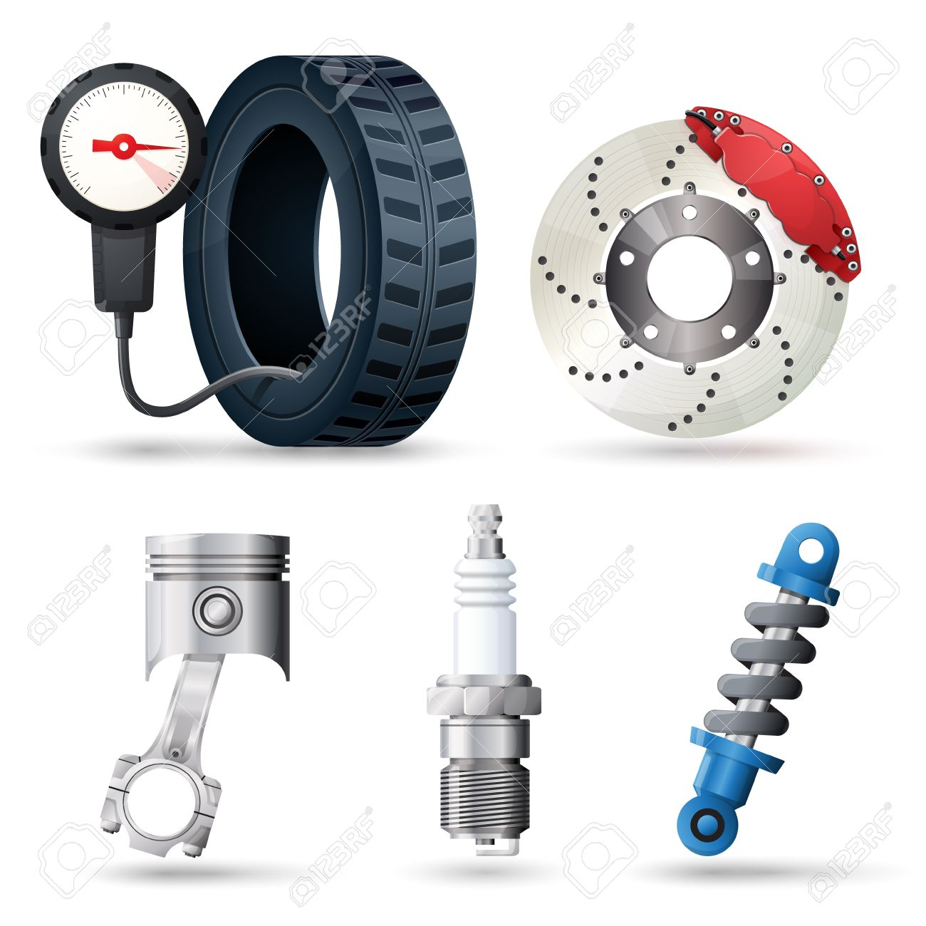 Car spare parts, mechanic and service tools - 17782595