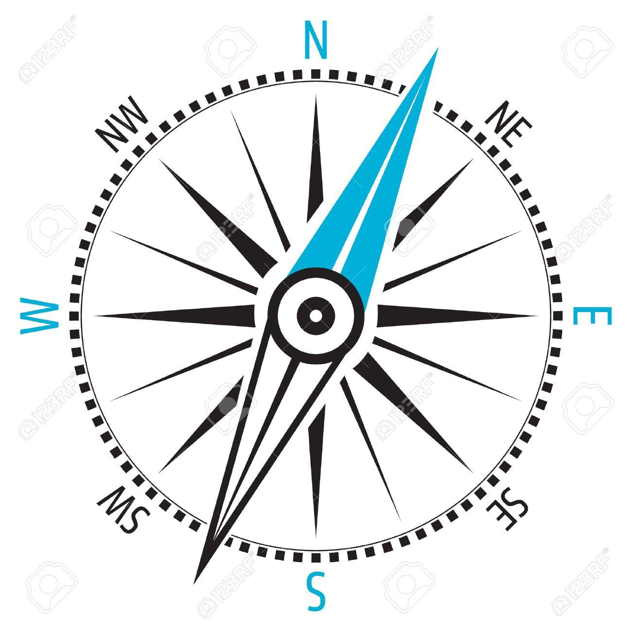Wind rose, compass - 19841736