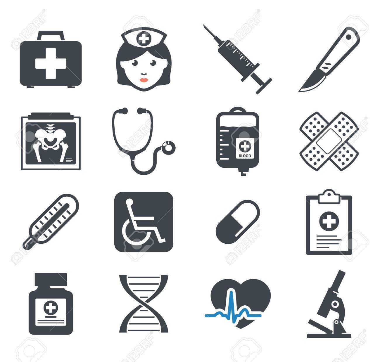 Medicine icons set - 20872515
