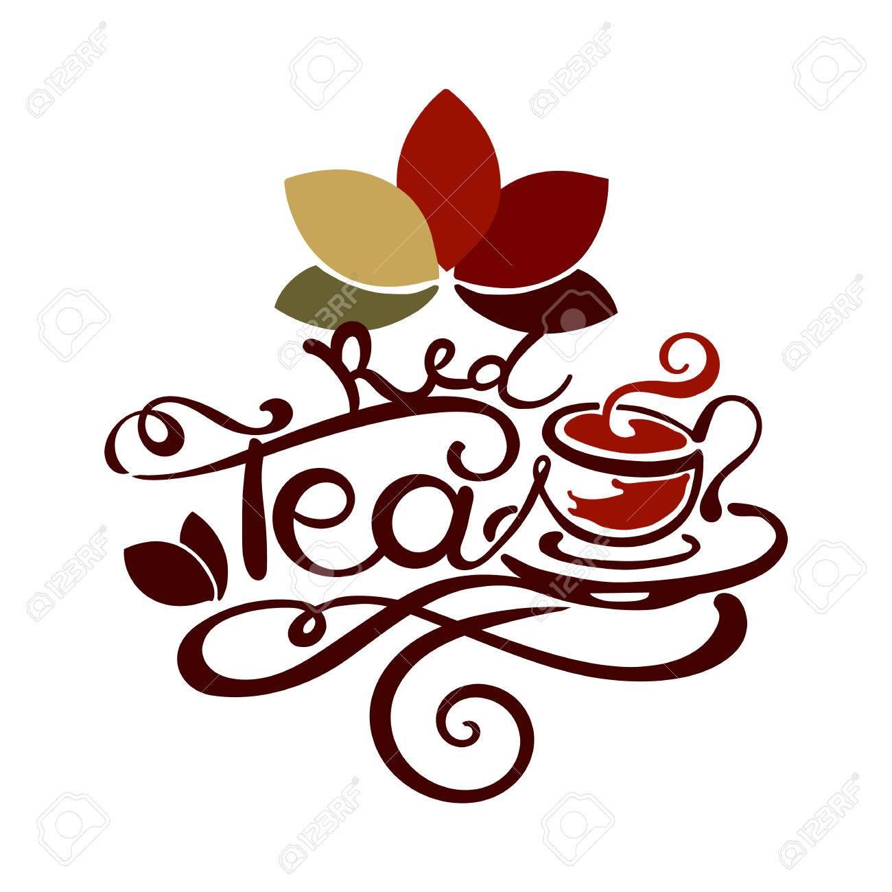 Beschriftung Roter Tee Gut Fur Etikett Logo Menudekoration