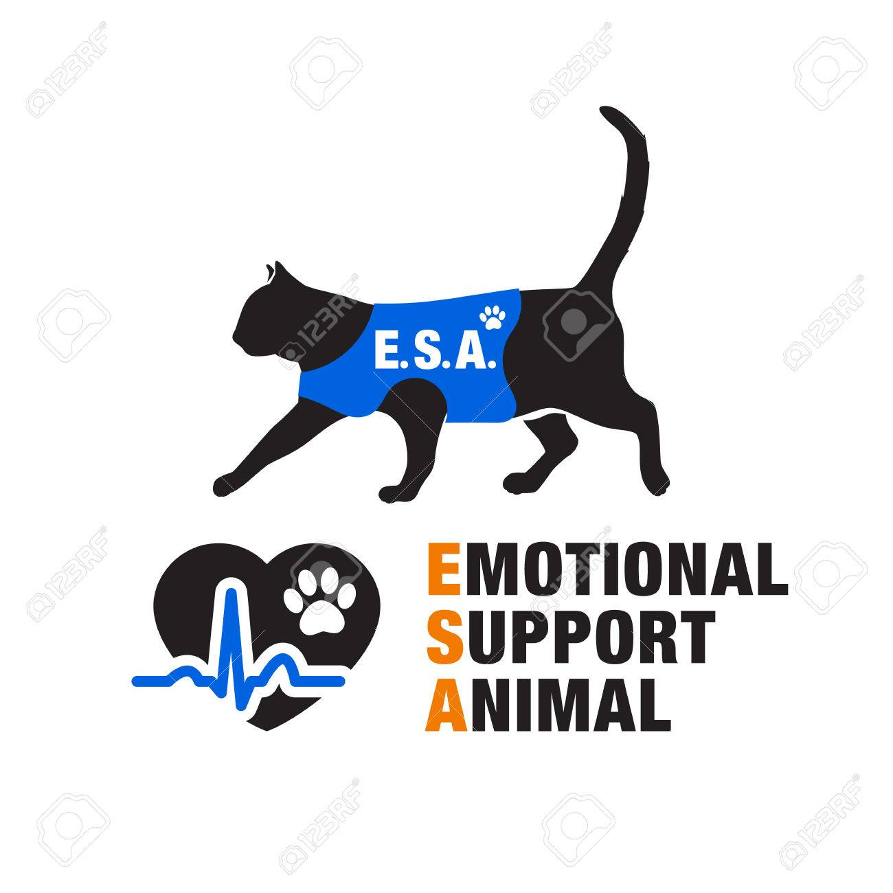 Image of: Funny Emotional Support Animal Emblems Stock Vector 74772283 Fox News Emotional Support Animal Emblems Royalty Free Cliparts Vectors