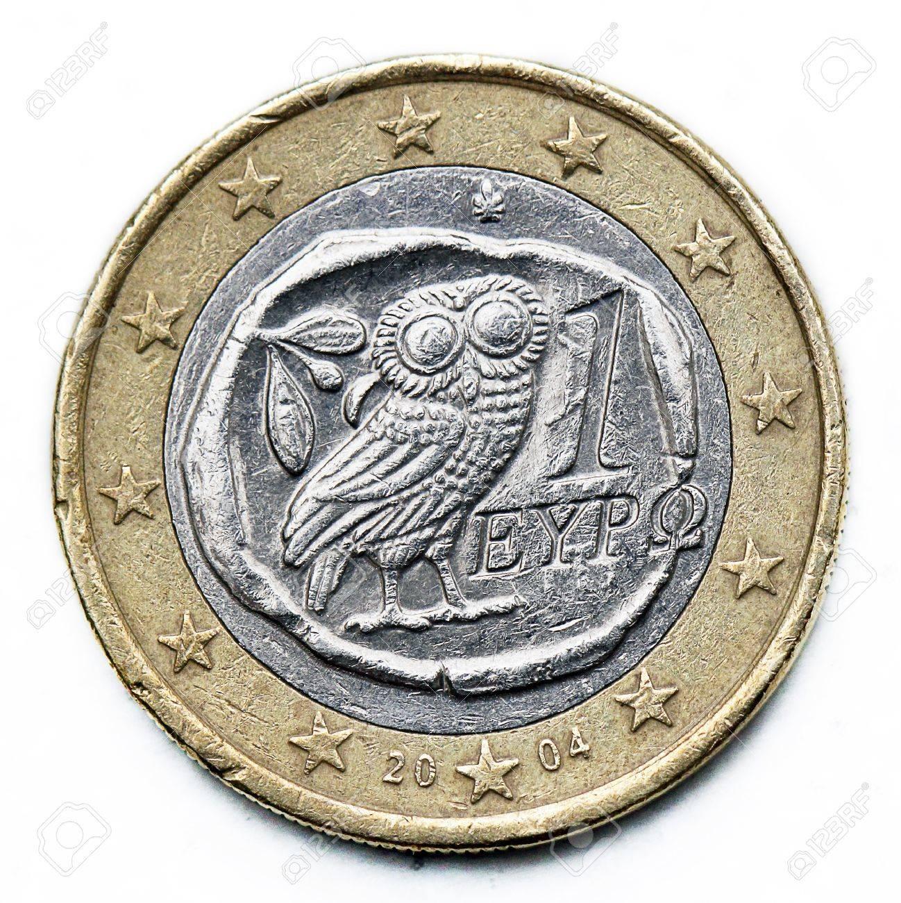 greece euro coin - 21809461