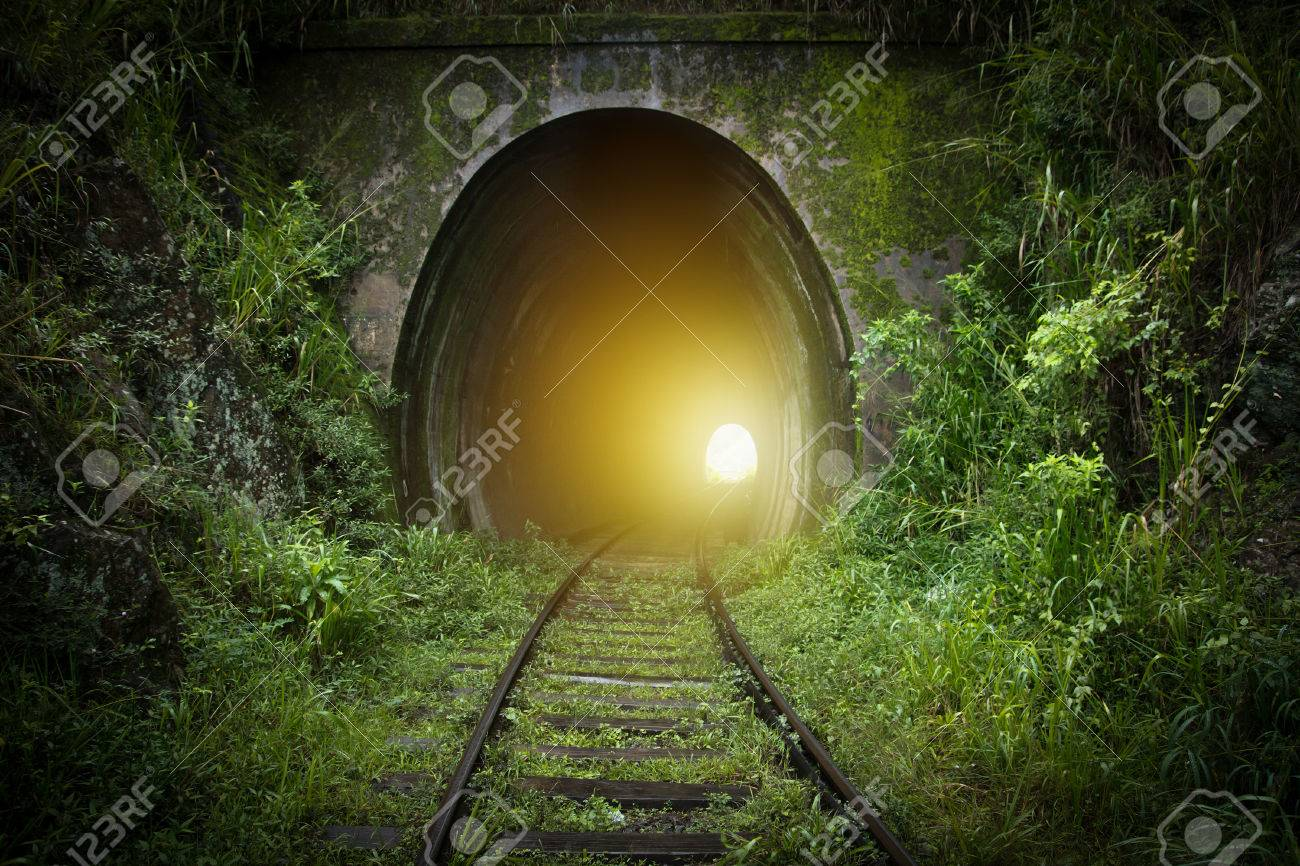 light at the end of tunnel - 79638007