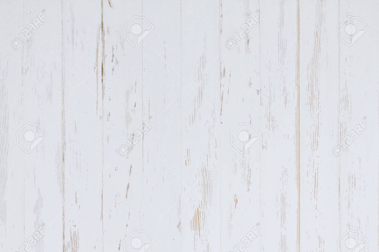 Bon Stock Photo   White Painted Wood Background