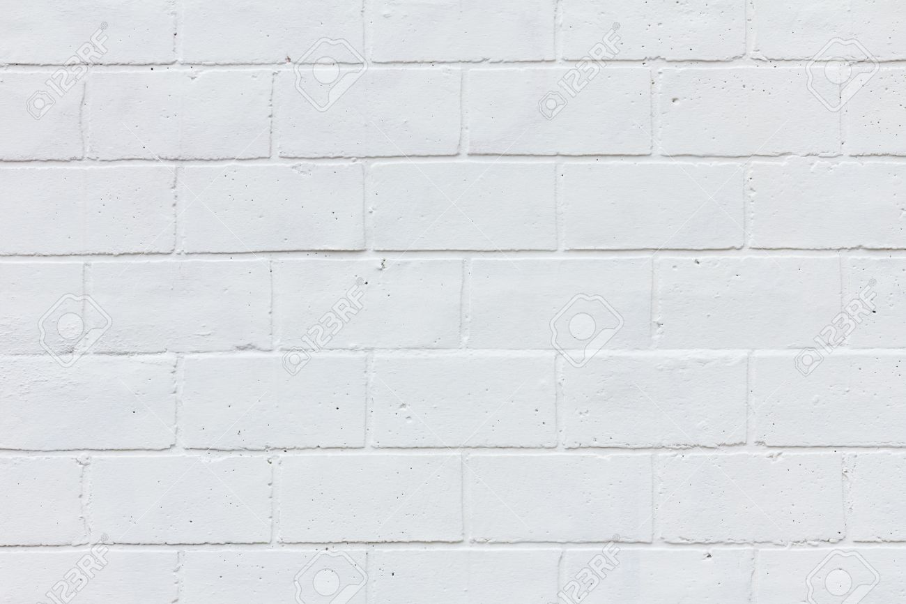 Painted White Brick Wall Texture Background Stock Photo Picture And Royalty Free Image Image 35356238