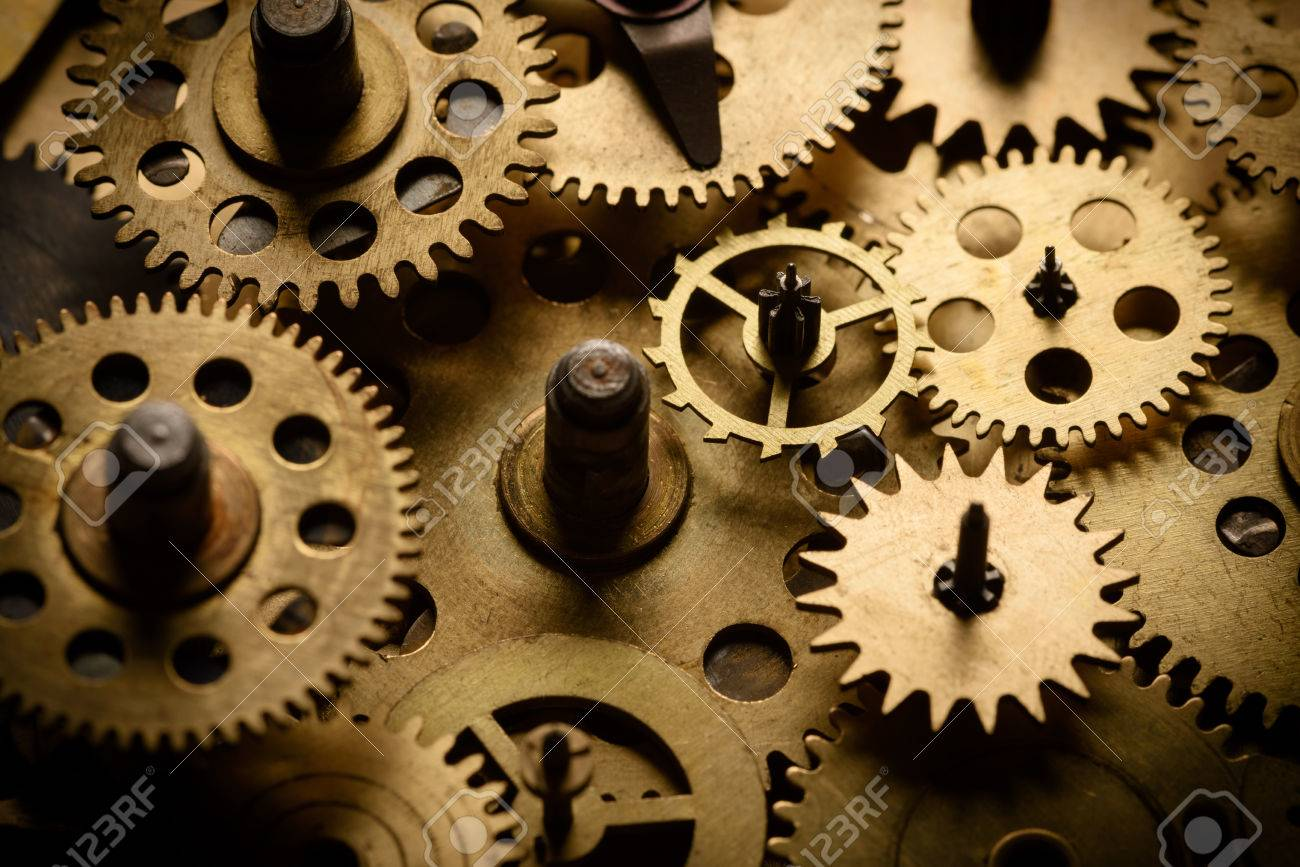 old gears and cogs stock photo picture and royalty free image