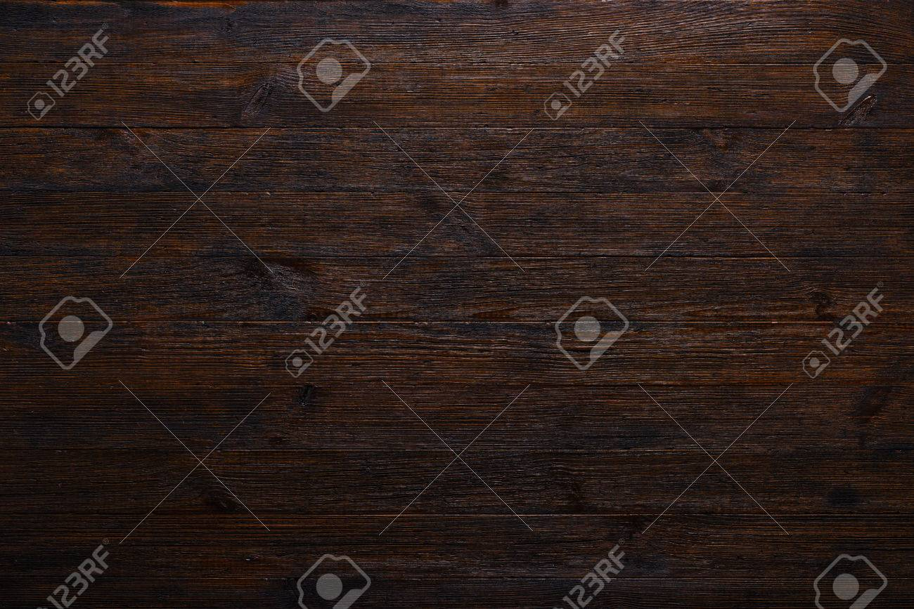 Wood table top texture - Dark Wood Table Texture Background Top View Stock Photo 74957077