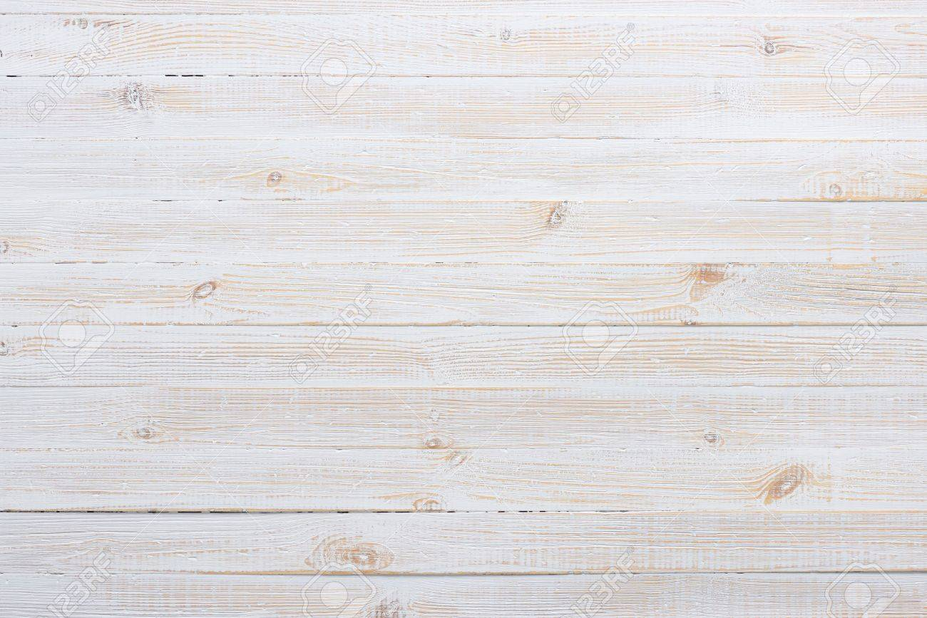 table top background. Stock Photo - White Texture Of Vintage Wooden Table Background Top View .
