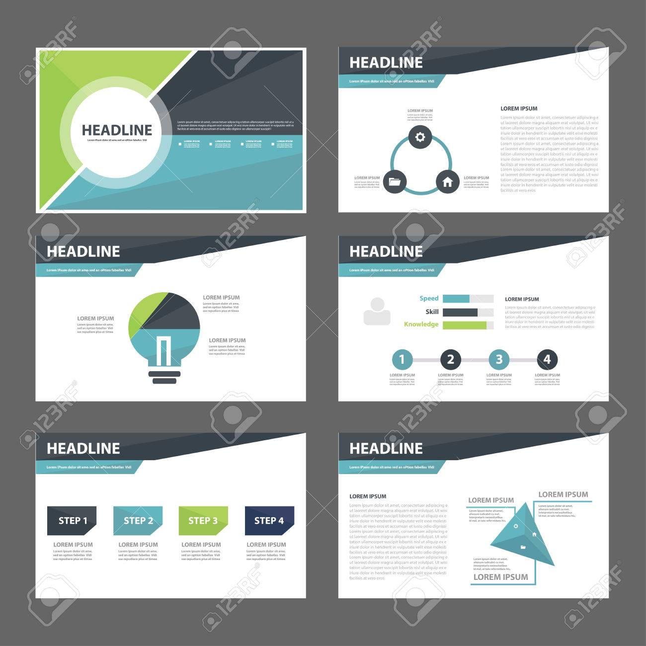 cover page stock photos images royalty cover page images and cover page blue and green infographic element for presentation brochure flyer leaflet flat design