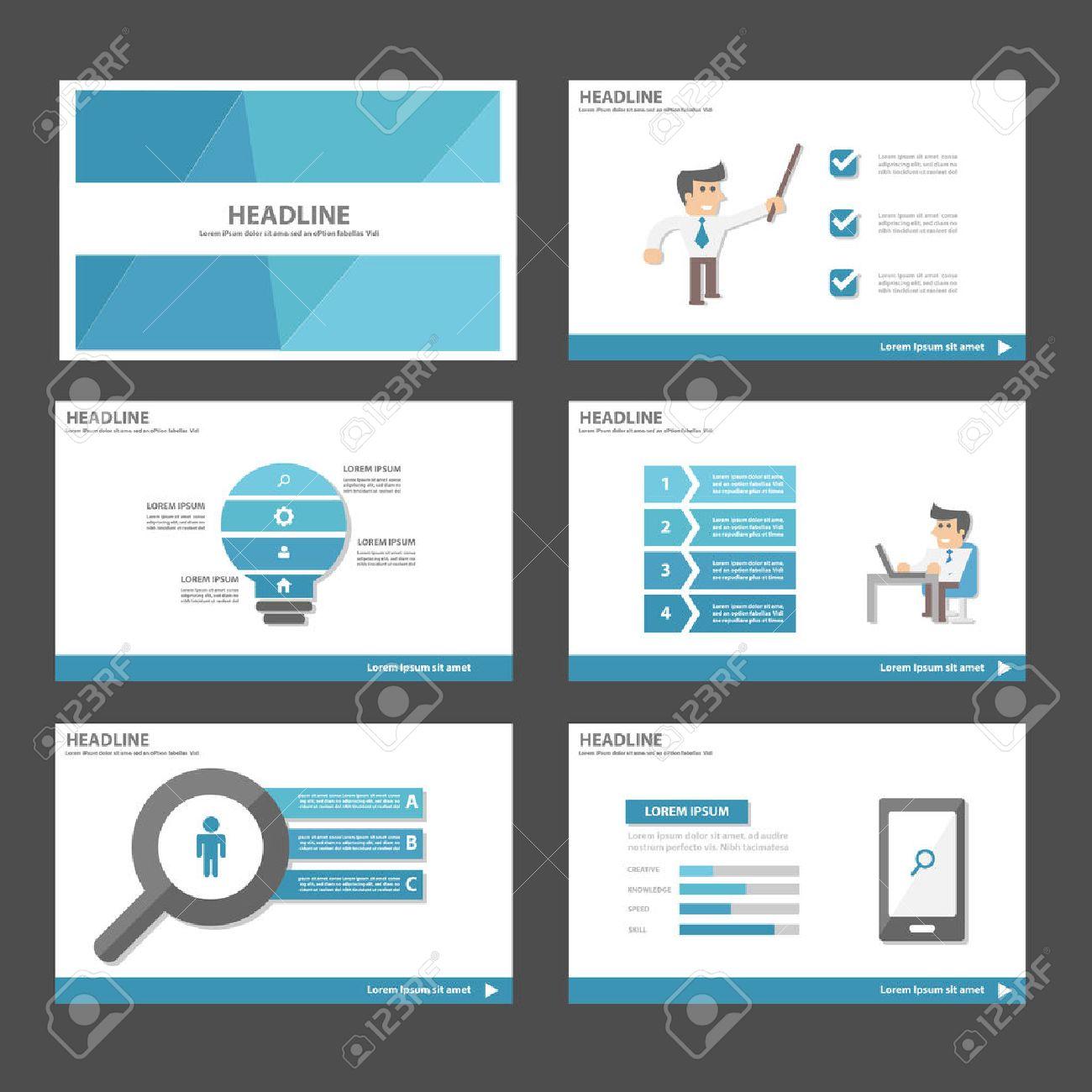 businessman blue theme multipurpose infographic elements and businessman blue theme multipurpose infographic elements and icon presentation template flat design set for advertising marketing