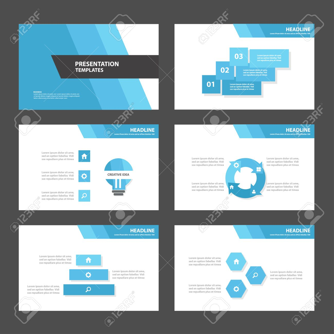 blue polygon multipurpose infographic elements and icon blue polygon 3 multipurpose infographic elements and icon presentation template flat design set for advertising marketing