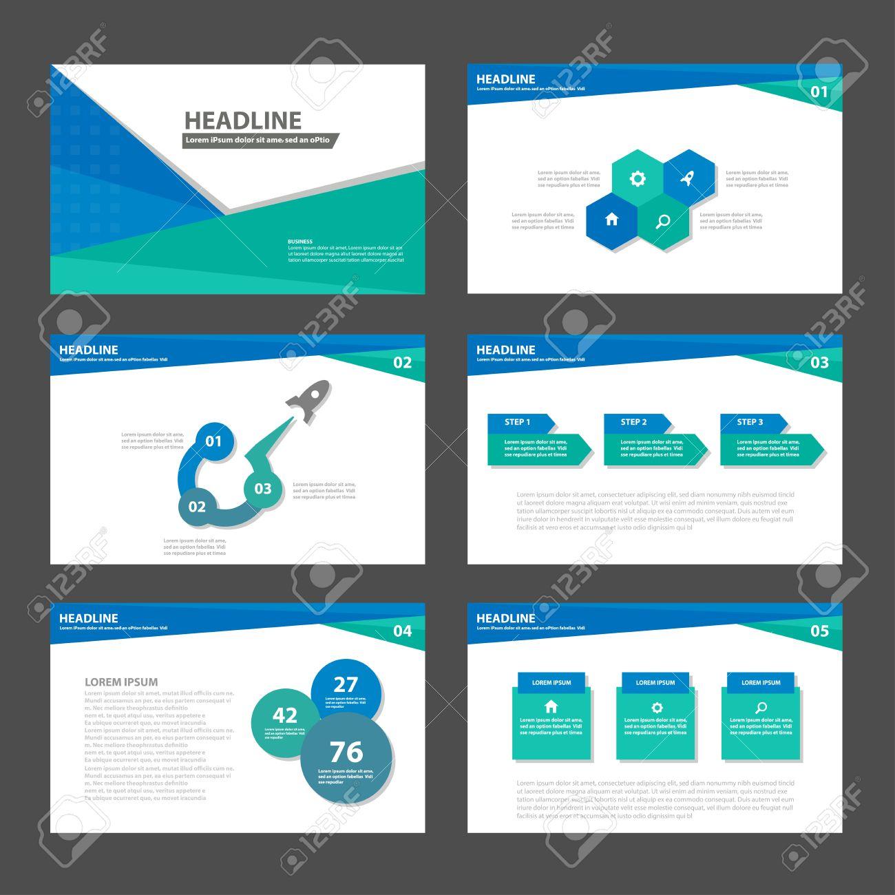 blue green business multipurpose infographic elements and icon blue green business multipurpose infographic elements and icon presentation template flat design set for advertising marketing