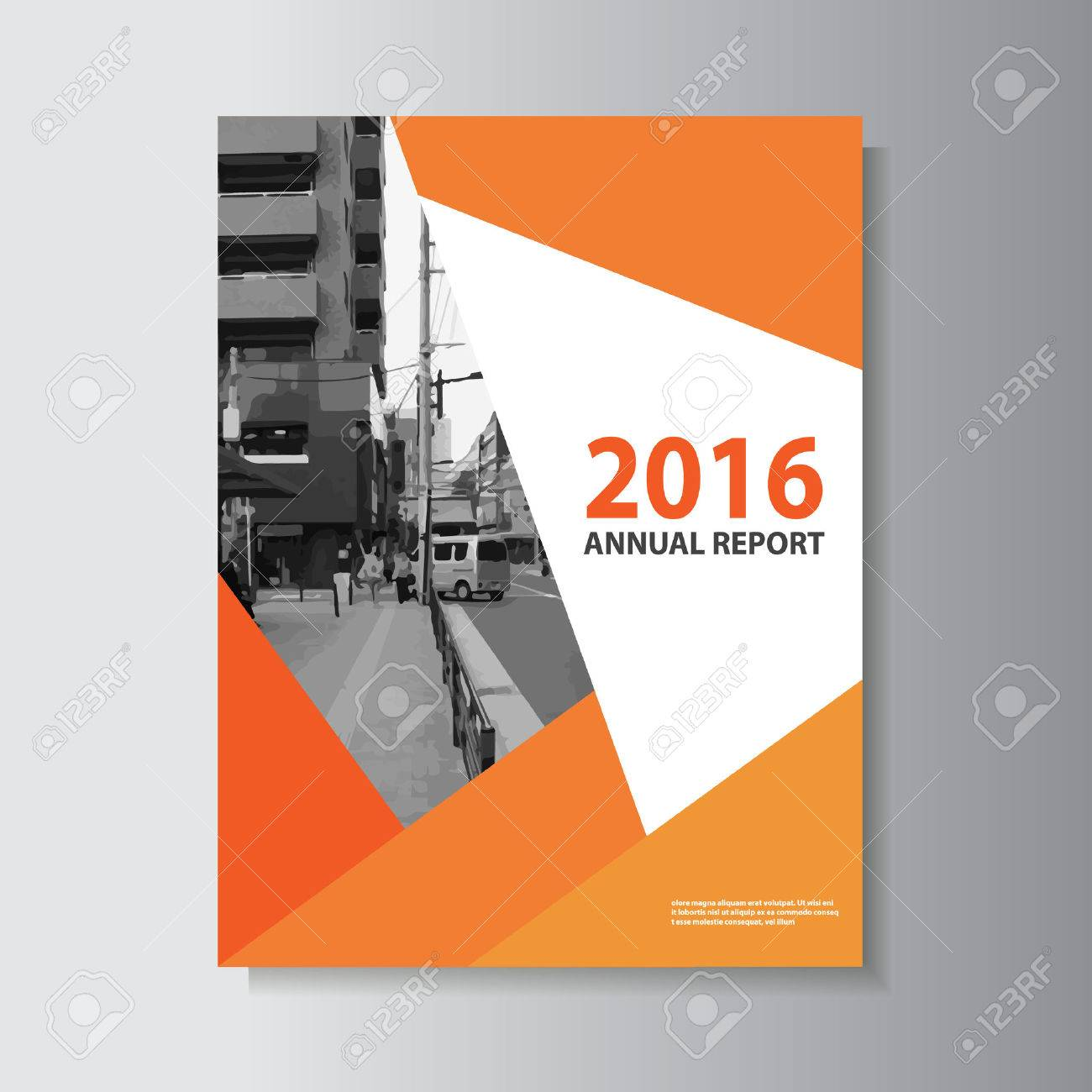 vector leaflet brochure flyer template a4 size design annual