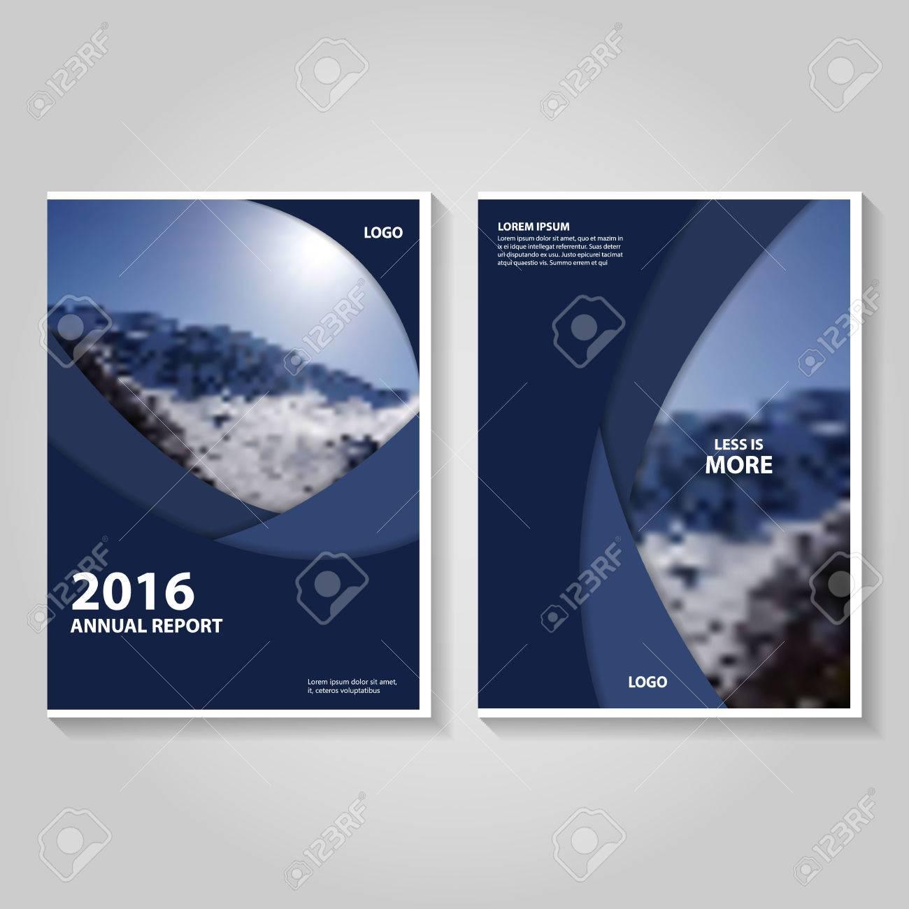 Informe Anual Folleto Folleto De Diseño De La Plantilla Púrpura ...