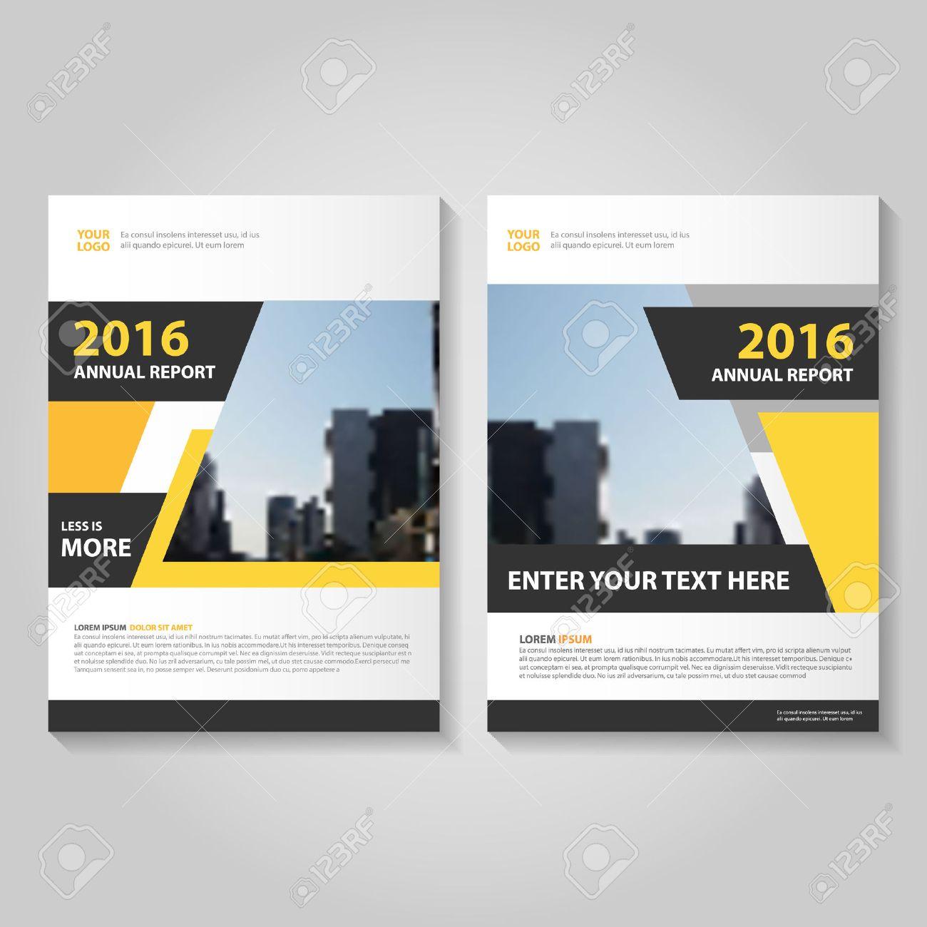 Blau Jahresbericht Prospekt Broschüre Template-Design, Buch-Cover ...