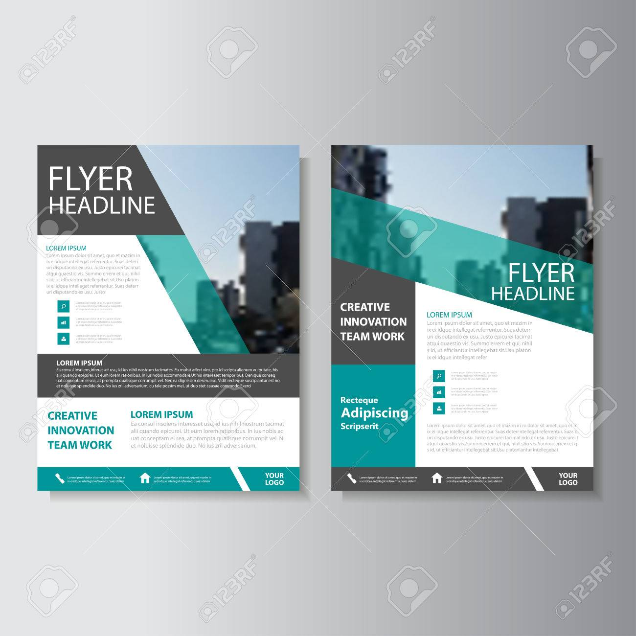 Creative green vector business proposal annual report leaflet creative green vector business proposal annual report leaflet brochure flyer template design book cover layout cheaphphosting Images