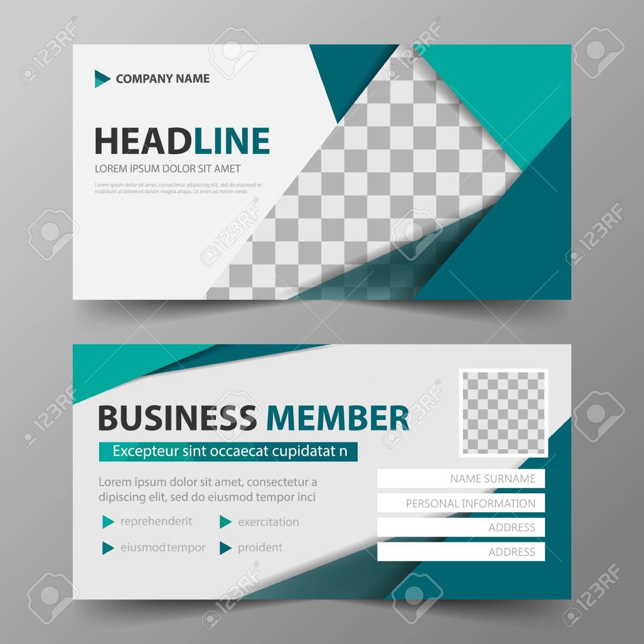 Member Card Corporate Business Card, Name Card Template Within Template For Membership Cards
