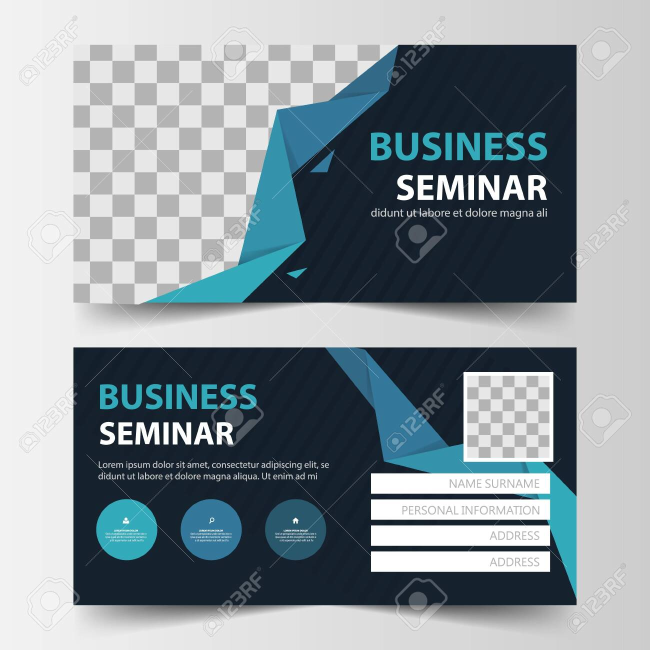 Member Card Corporate Business Card Name Card Template Horizontal Royalty Free Cliparts Vectors And Stock Illustration Image 132835750