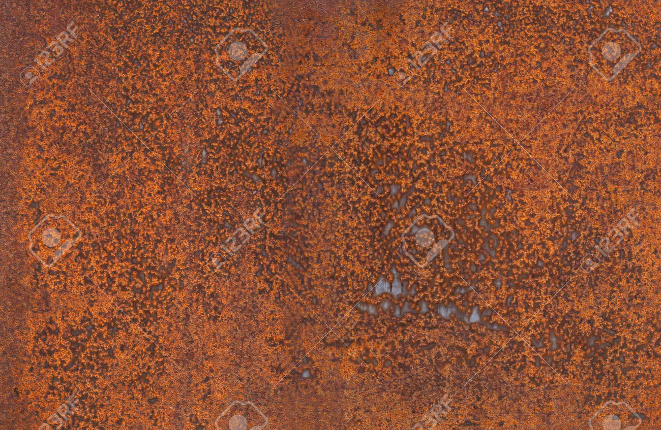 High Resolution Metallic Rusty Textured Wall Background Stock Photo - 945206