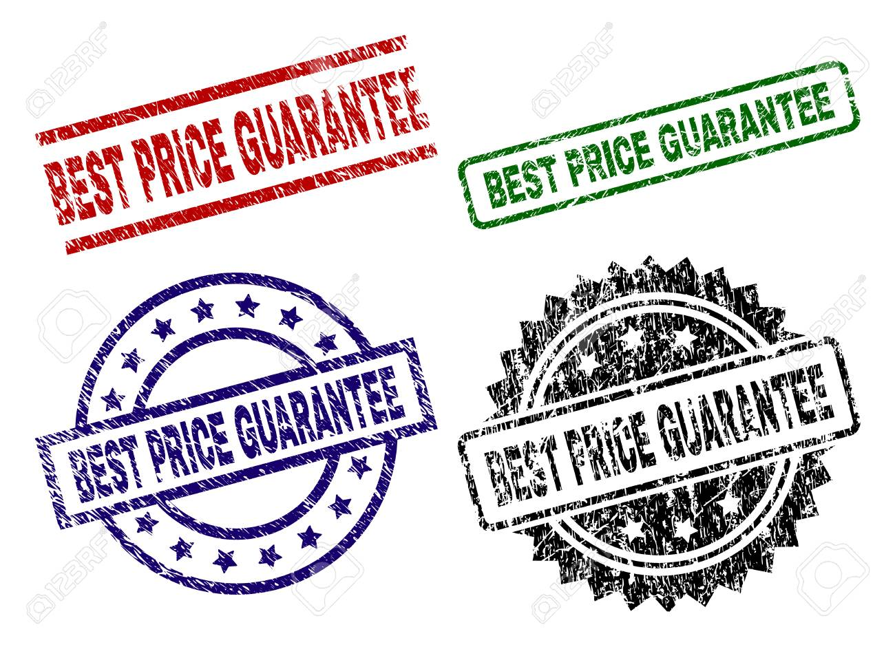 best price guarantee seal prints with distress surface black