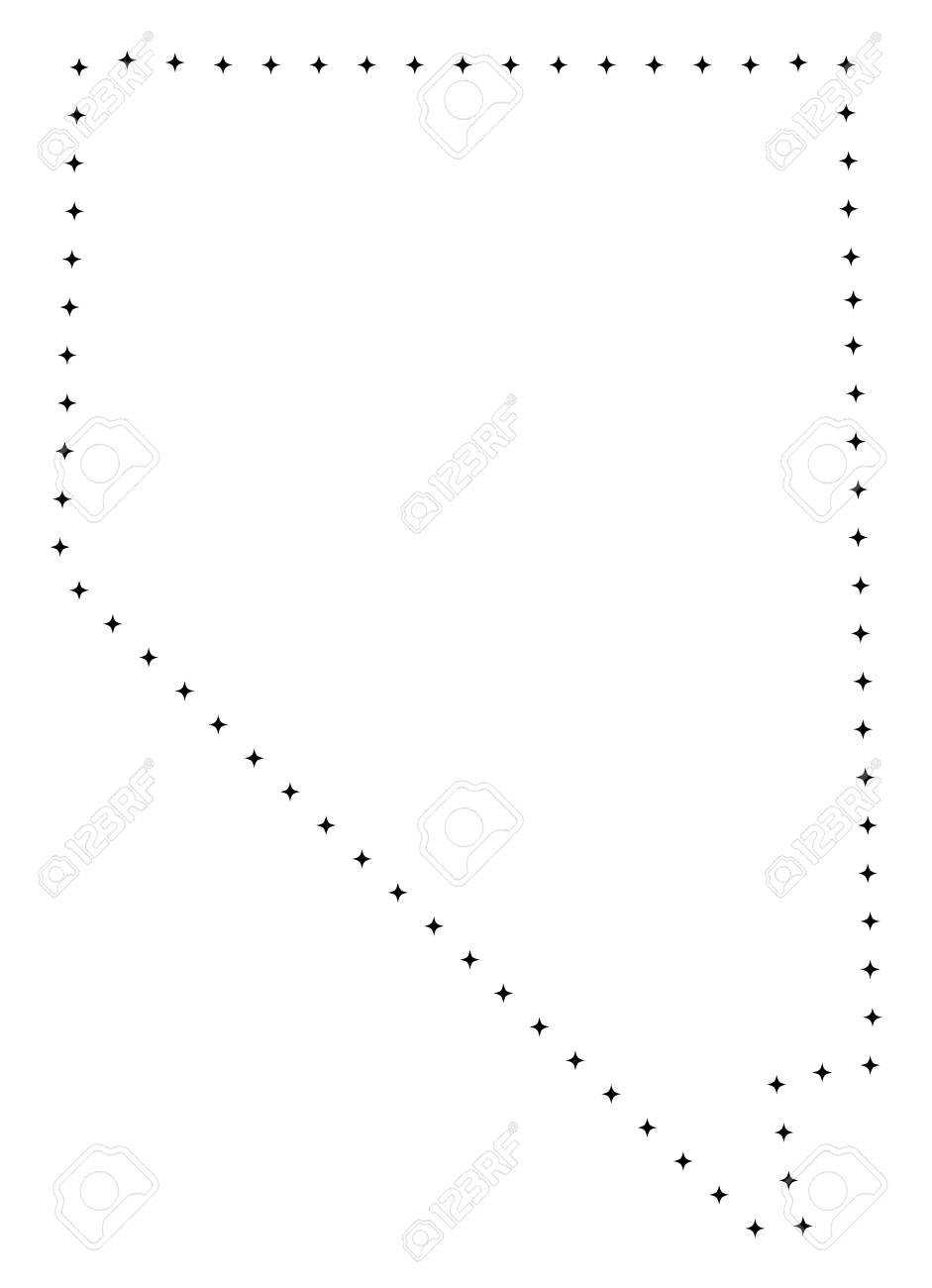 Vector Stroke Dotted Nevada State Map In Black Color Small Border Royalty Free Cliparts Vectors And Stock Illustration Image 111897328