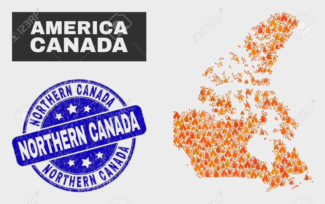 Vector collage of fire Canada v2 map and blue rounded distress.. on canada marijuana, canada wildfires, canada hd, canada name, canada elizabeth ii, western forest fires map, canada beach, canada mad cow, canada disease, canada is awesome, canada poverty, canada phone numbers, canada pride, canada address format, canada media fund, canada smoke, canada driver's license, canada national capital,