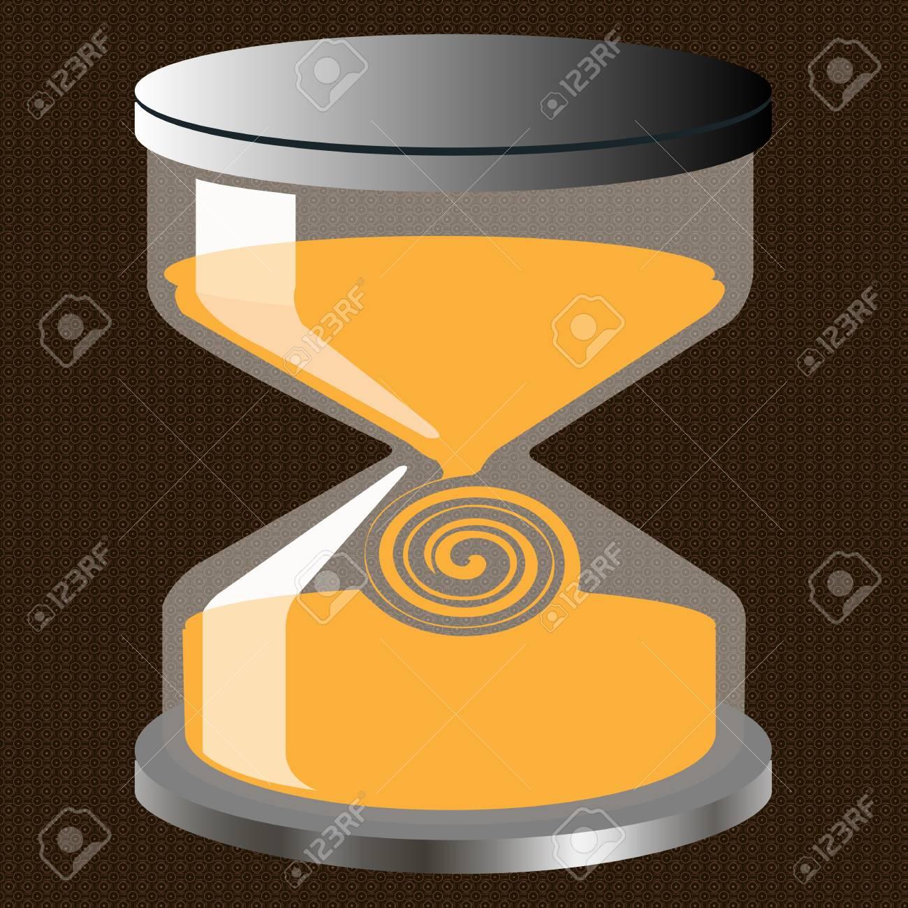 Decorative Hourglass Figure On Fone Seamless Patterned Royalty Free - Decorative-hourglass